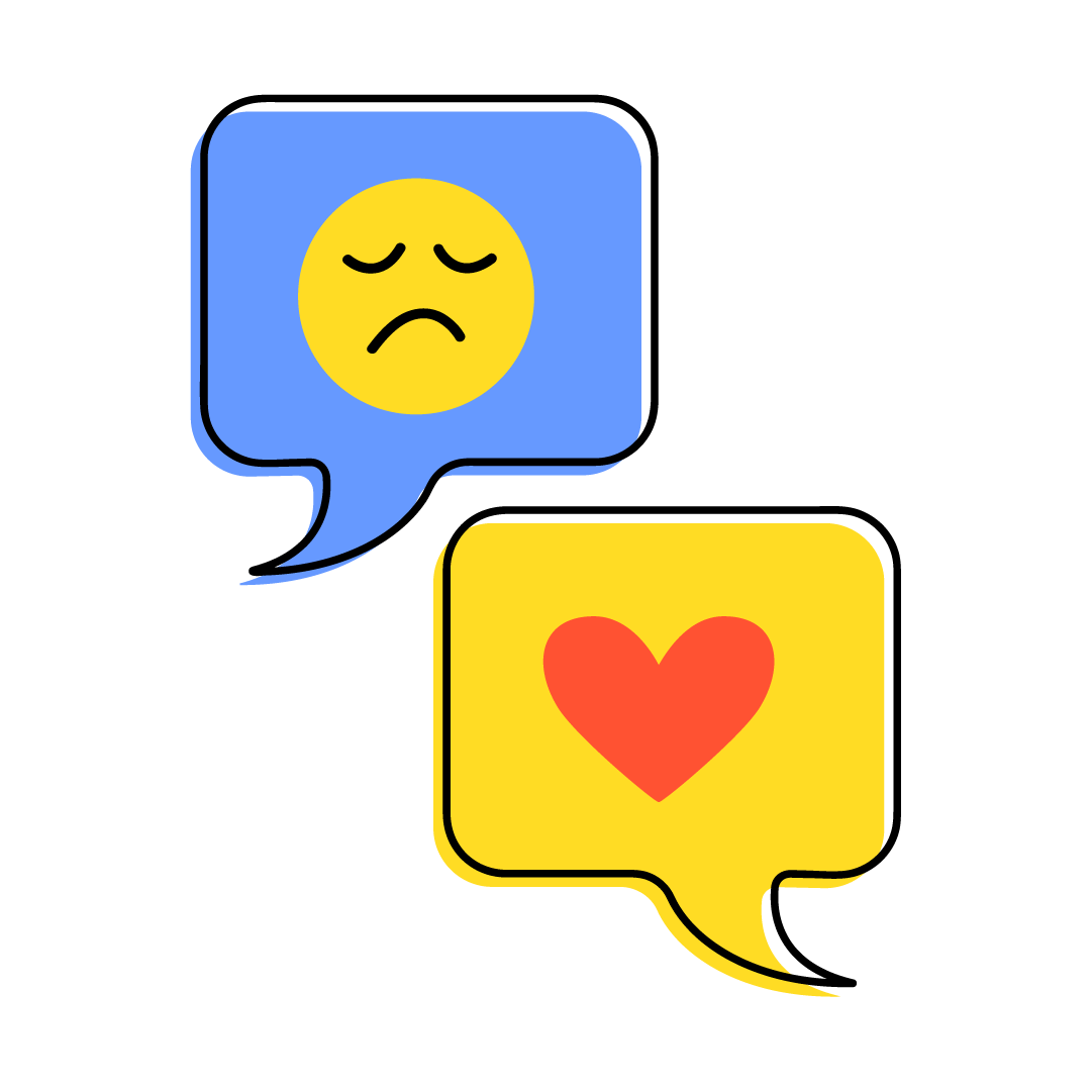 chat relief icon